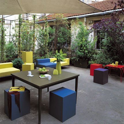 Terrazzi urbani sette foto di esempi designandmore for Arredare terrazzi piccoli