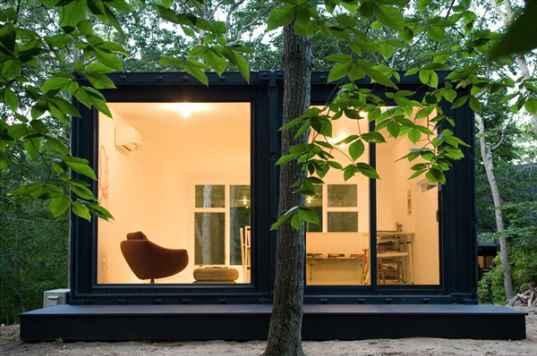 container house - zona soggiorno