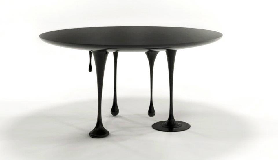 Photo of The Paint Table: il tavolo liquido disegnato da Claudia Bignoli
