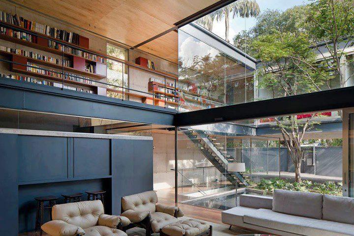 Photo of La splendida Bacopari House a San Paolo disegnata dallo studio UNA Arquitetos