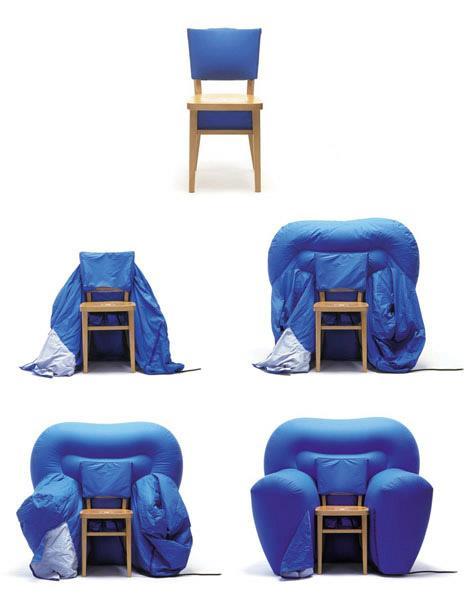 Photo of The Sofa Chair: come trasformare una sedia in un divano, design di Matali Crasset