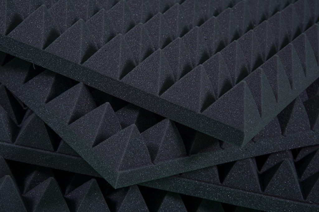 pannelli fonoassorbenti piramidalu