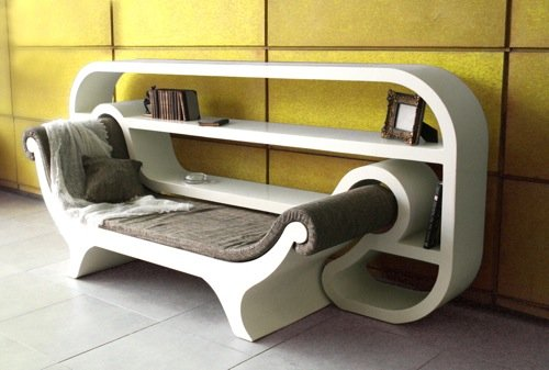 Photo of Recamier Reading corner: l'angolo di lettura della designer Inbar Paradny Kalomidi