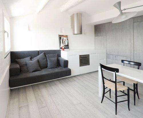 Photo of Monolocale a Camogli: Progetto di Interior design dello studio Gosplan