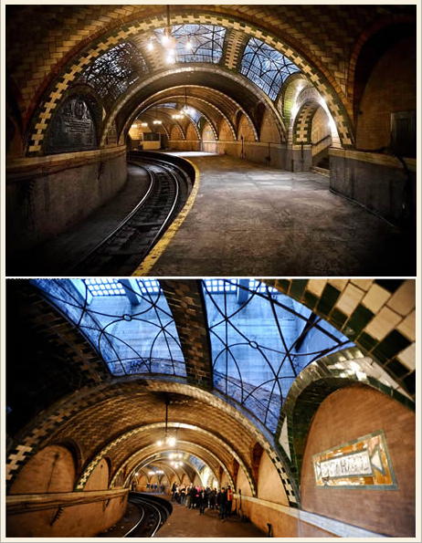 Abandoned City Hall Subway Station
