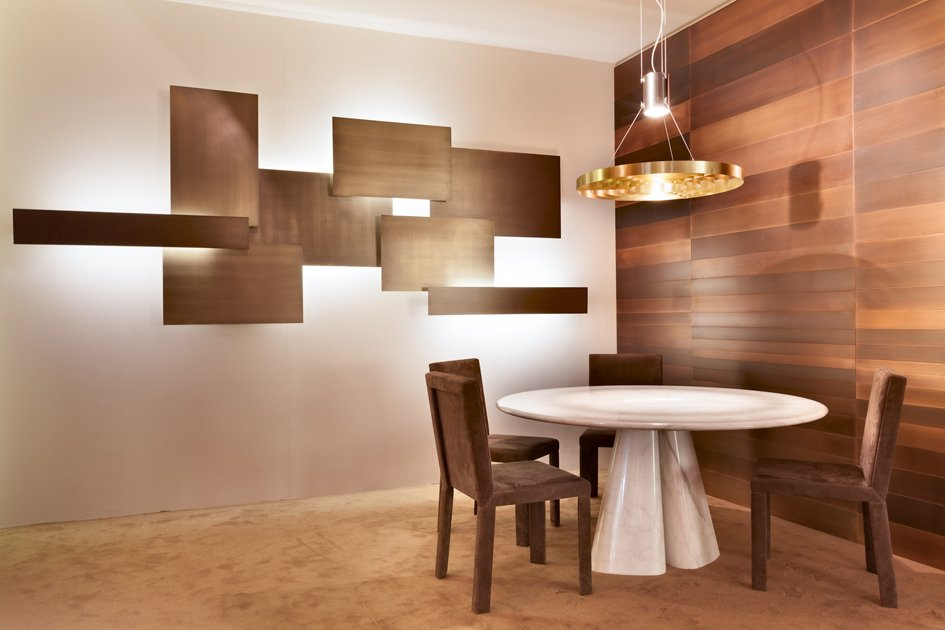 Photo of Il Lightwall disegnato da Mark Anderson per Laurameroni Design