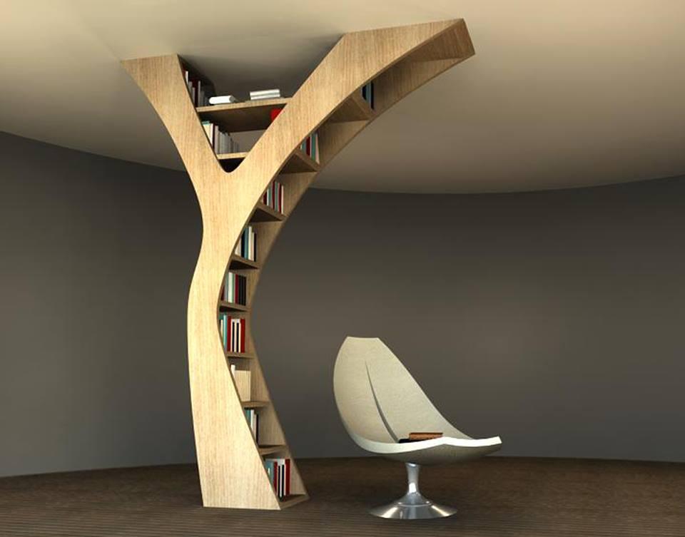 Photo of la libreria Yule disegnata da Claudia Bignoli