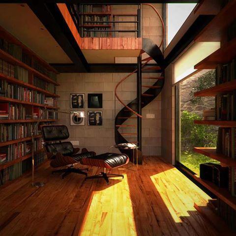 Photo of bellissima questa libreria, molto calda, che ne pensate?