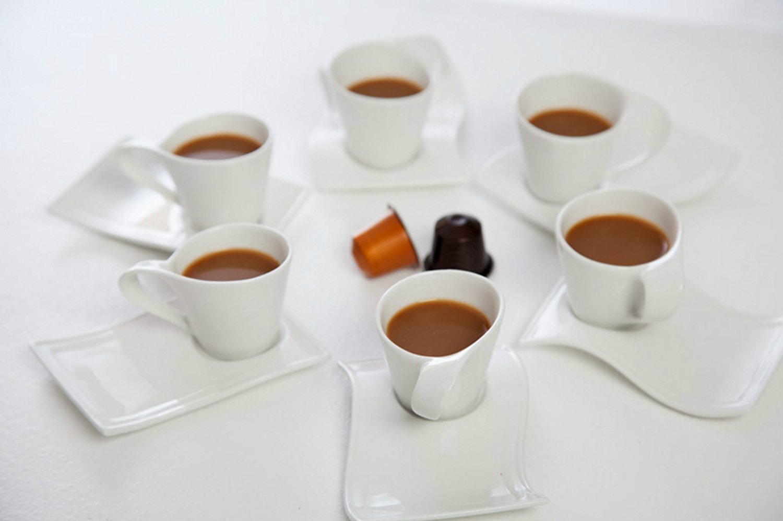 Set di tazzine per caff e cioccolatino designandmore for Tazzine caffe moderne