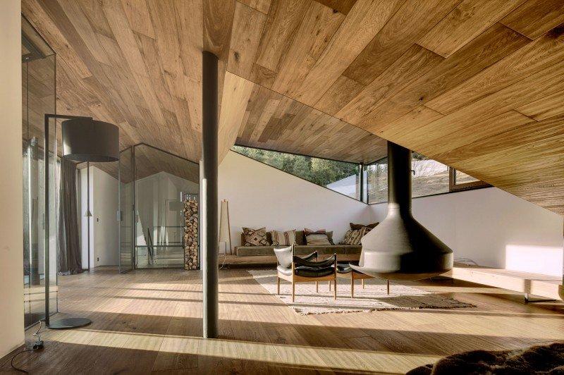 Haus Wiesenhof in Tirolo, progettata dallo studio Gogl Architekten
