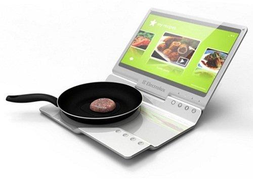 Photo of Electrolux: cucina portatile con piastra ad induzione a forma di laptop