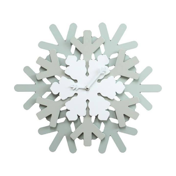 Photo of Snowflake: l'orologio da parete di ghiaccio