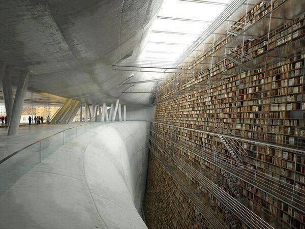 Photo of Il muro della conoscenza a Stoccolma