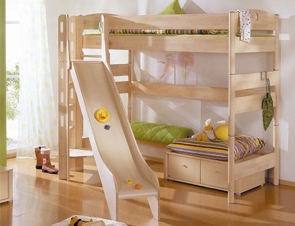 Letti per bambini divertenti modelli consigliati e prezzi designandmore arredare casa - Letto castello scivolo ...