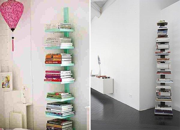 Libreria fai da te 10 facili idee originali da realizzare - Parete in legno fai da te ...
