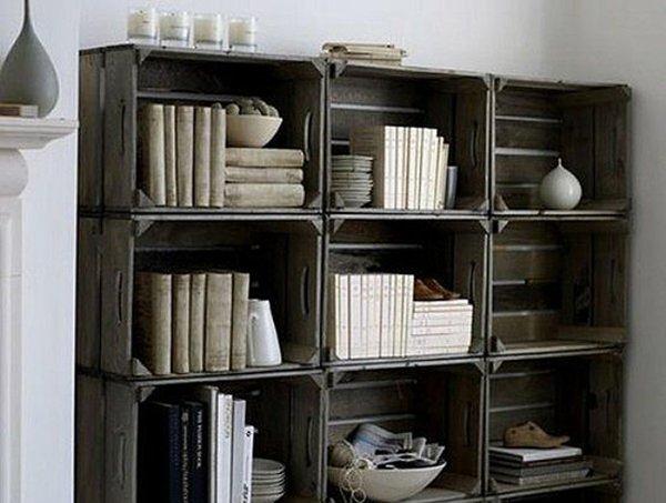 Libreria fai da te 10 facili idee originali da realizzare for Libreria fai da te