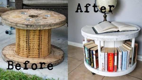 Libreria fai da te 10 facili idee originali da realizzare for Scaffali fai da te
