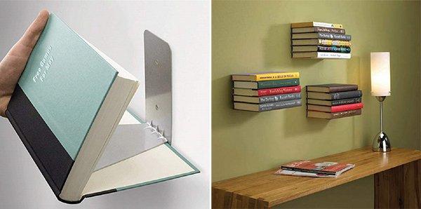 Libreria fai da te 10 facili idee originali da realizzare legno e altri materiali - Parete in legno fai da te ...
