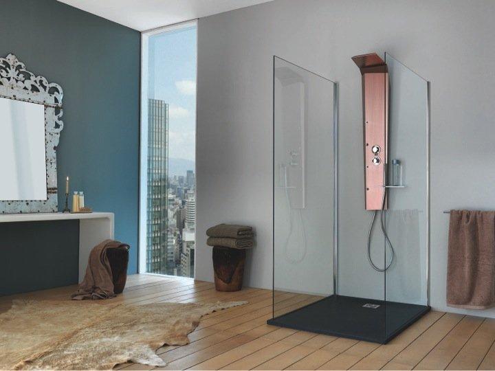 Come scegliere il box doccia per il bagno: la Colonna Attrezzata Pictor Top