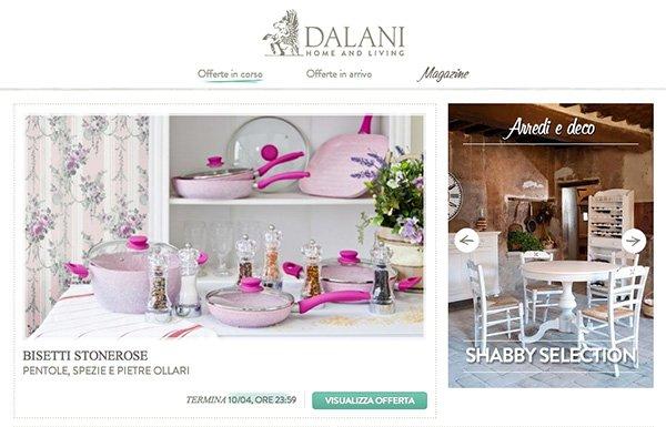 Dalani arredamenti catalogo mobili design a prezzi scontati for Dalani arredamento