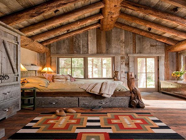camera da letto 10 stili d arredo rustic bedrooms design ideas canadian log homes