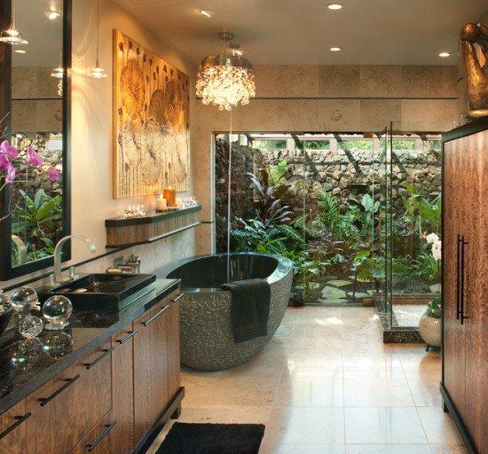 Hallman-Bath: bella anche la vasca in pietra
