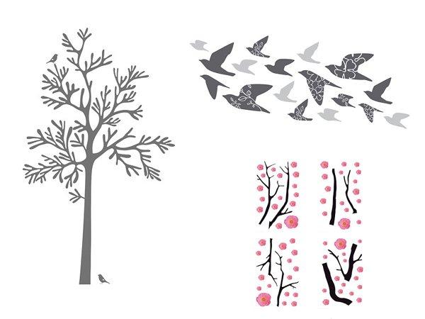 Adesivi murali ikea stickers per la decorazione delle pareti - Adesivi murali bambini ikea ...