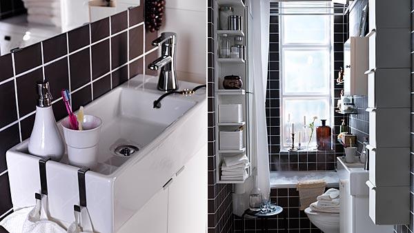 Bilocale ikea idee per arredare un bilocale di 40 mq designandmore arredare casa - Ikea idee bagno ...