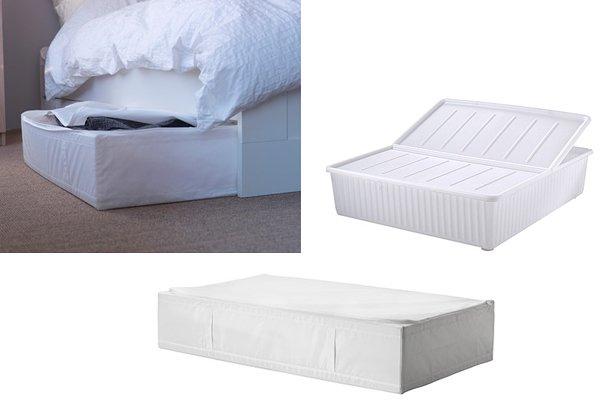 Arredare casa piccola consigli ed idee di arredamento per - Cassetti sotto letto ...