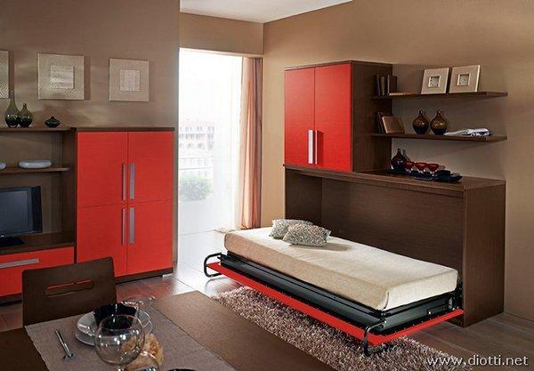Esempi di arredo per un monolocale di 32 mq tanti esempi for Piccolo divano letto
