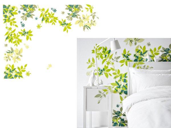 Casa immobiliare accessori adesivi per pareti ikea for Ikea decorazioni