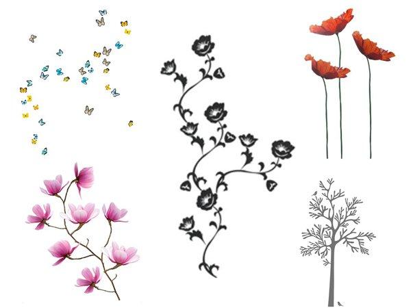 Adesivi murali ikea stickers per la decorazione delle pareti for Ikea decorazioni