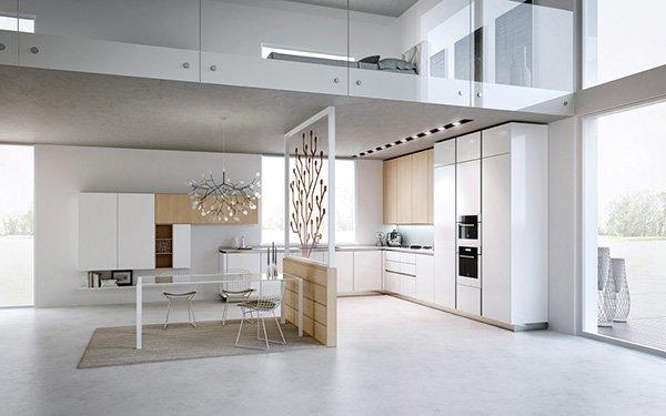 Come arredare un loft moderno: spazi luminosissimi...