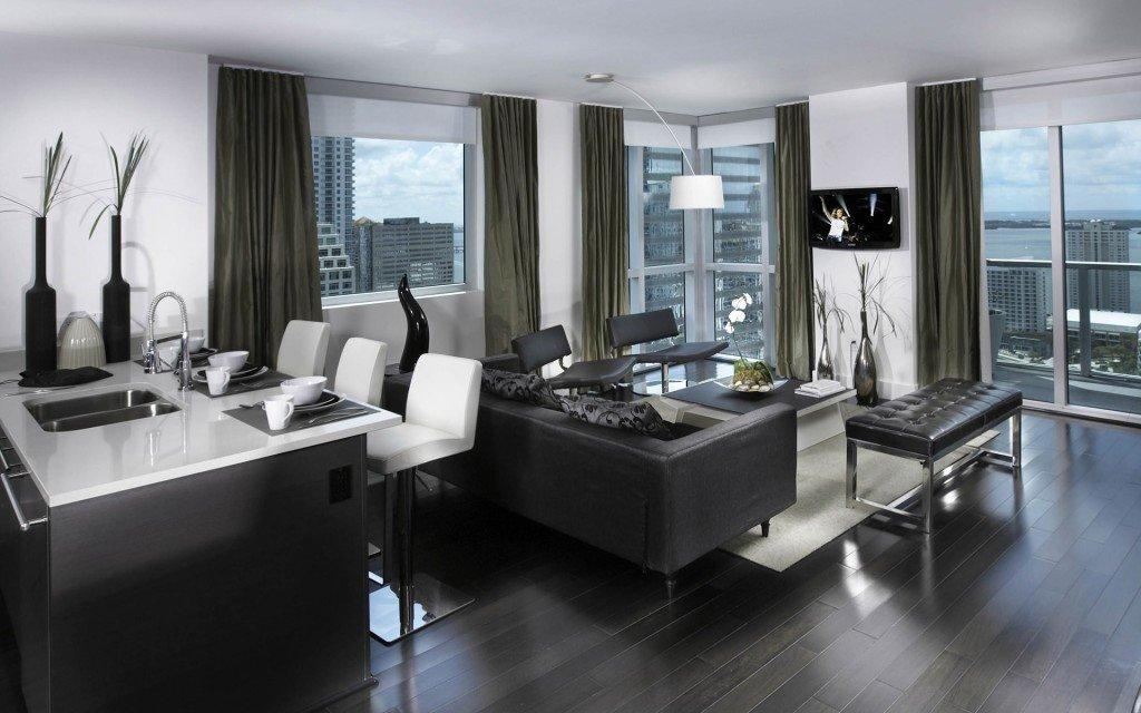 Arredamento moderno consigli per camera bagno living e for Appartamenti moderni