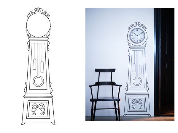 Pannelli di polietilene decorativi per interni for Ikea coprifili