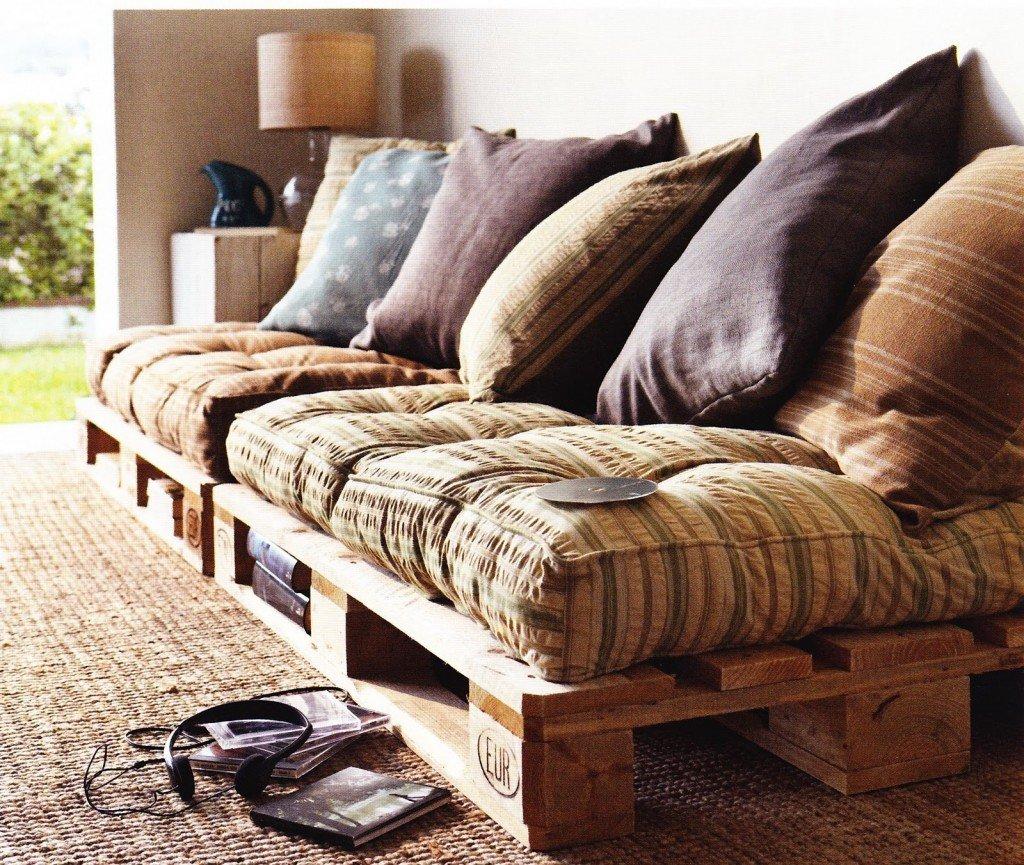 divano marocchino pallet