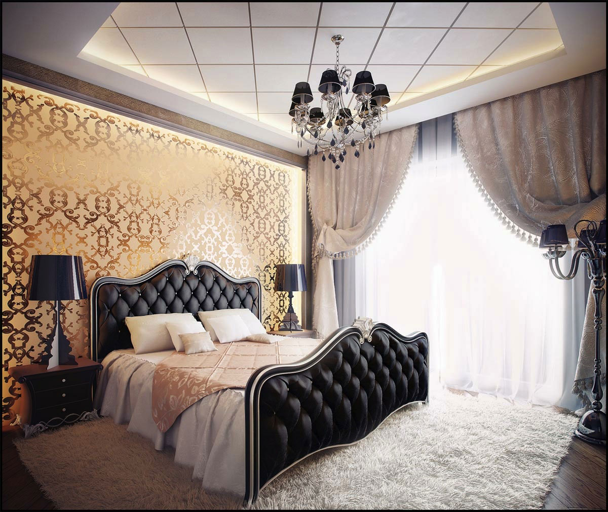 Idee di arredo per la camera da letto 10 stili diversi designandmore arredare casa - Consolle camera da letto ...