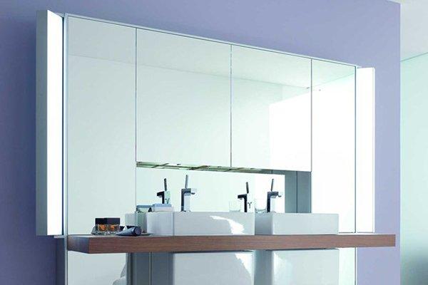 Specchio bagno: specchiere e mobili a specchio, foto ed esempi