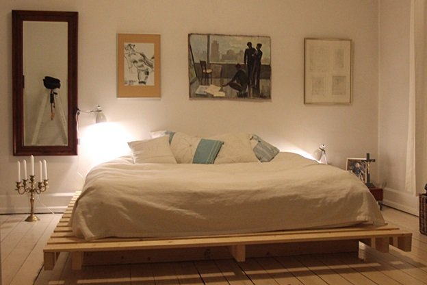 Photo of Come realizzare un letto con i pallet fai da te