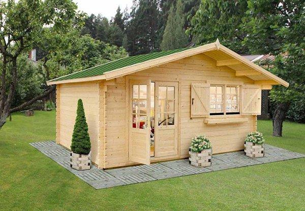 Casette da giardino in legno 5 foto di esempi for Mini case prefabbricate