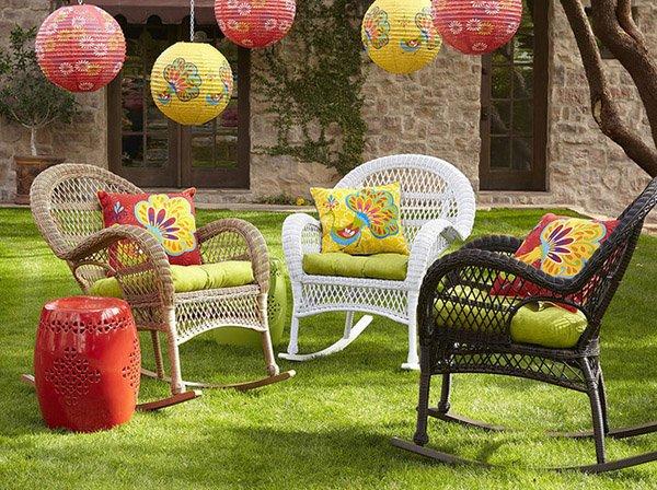 Idee per arredare il giardino d'estate