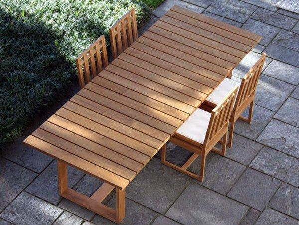 Tavoli da giardino tanti modelli recensiti in legno - Ikea sedie da esterno ...