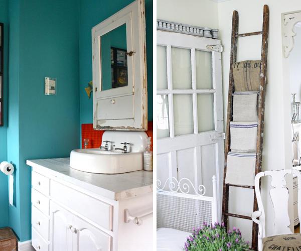Shabby chic arredamento interiors per casa mobili - Bagno shabby chic ikea ...