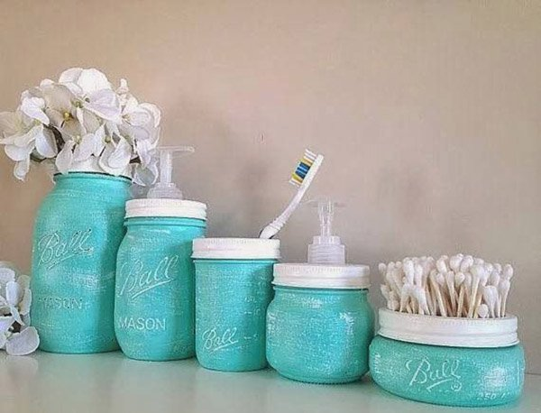 Bagno fai da te idee per arredare il bagno con materiali di recupero designandmore arredare casa - Oggettistica bagno ...