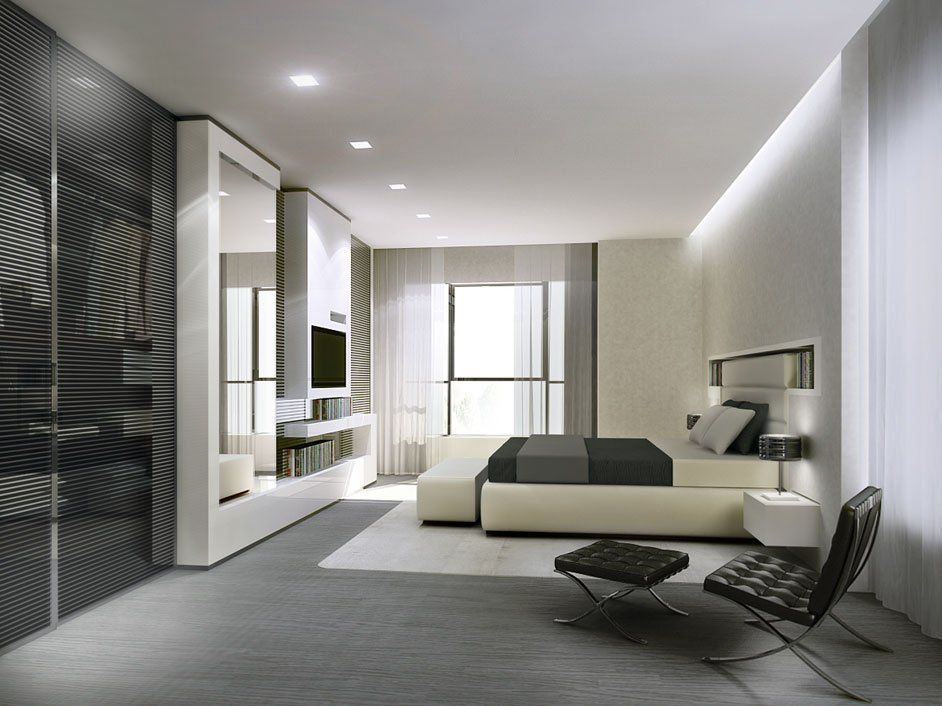 Camera da letto moderna consigli di arredamento designandmore arredare casa - Luci a led per interni casa ...