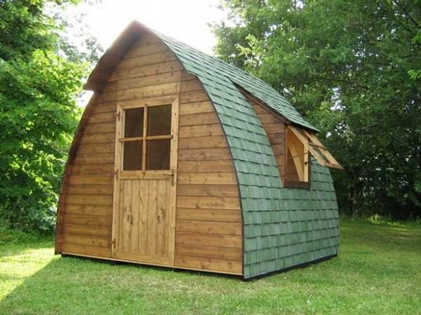 Casette da giardino in legno 5 foto di esempi - Casette in legno per giardino ...