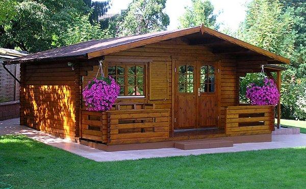 Casette da giardino in legno 5 foto di esempi for Casetta in legno bricoman