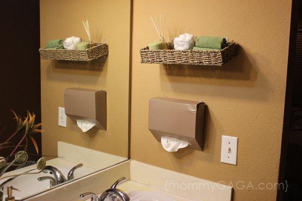 Bagno fai da te idee per arredare il bagno con materiali di recupero designandmore arredare casa - Oggetti per arredare il bagno ...