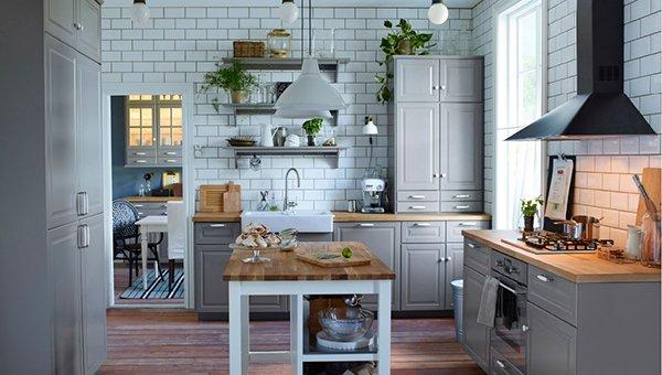 Cucine ikea per una casa moderna modelli e catalogo designandmore arredare casa - Cucine ikea con penisola ...