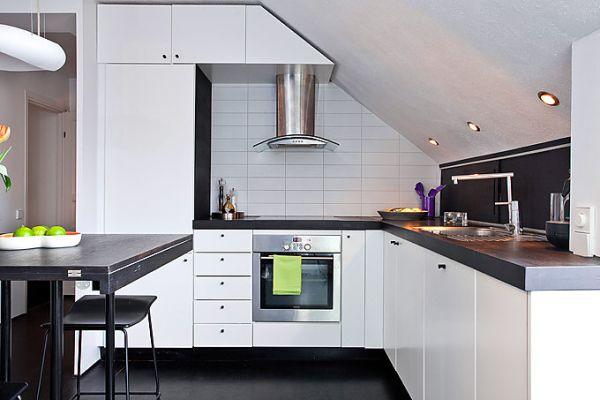 cucina-mansarda